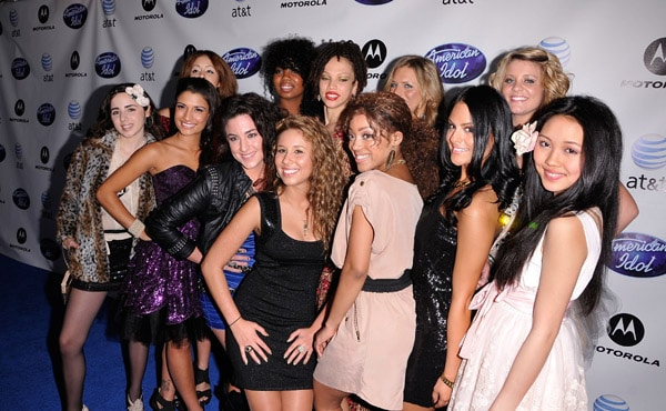 American Idol 10 Top 12 Girls