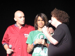Phil,   Sanjaya and Chris S in Cleveland