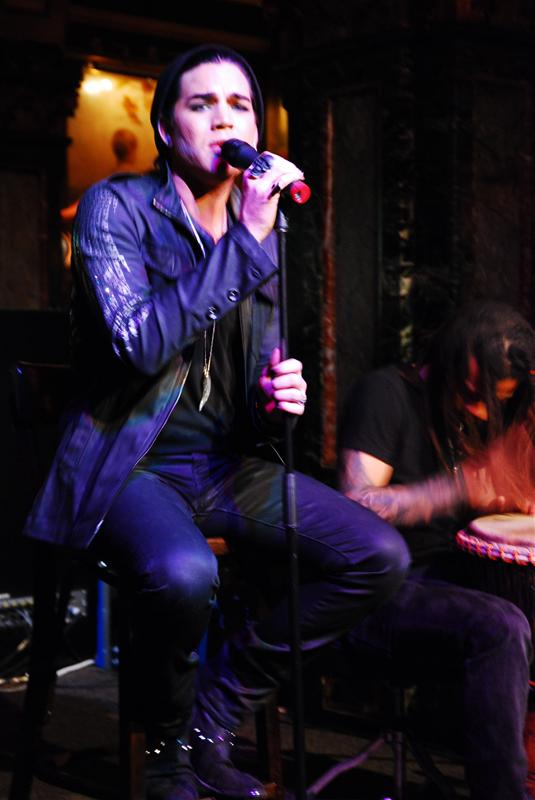 Adam Lambert Acoustic Showcase Marble Bar Sydney