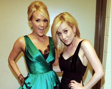 Kellie Pickler And Carrie Underwood The votes have been tabulated