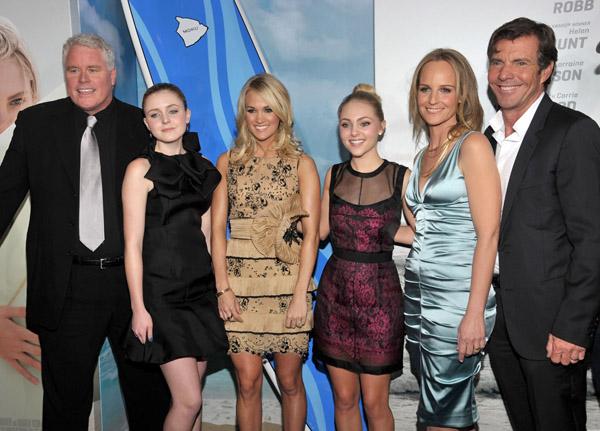 Actress In Soul Surfer: Carrie Underwood Attends 'Soul Surfer' Premiere • Mjsbigblog